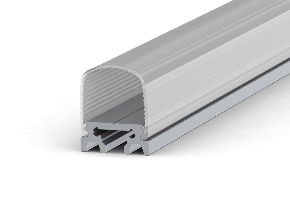 Ardra Alu Fluo barra led in alluminio anodizzato naturale