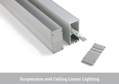 Suspension and Ceiling Linear Lighting