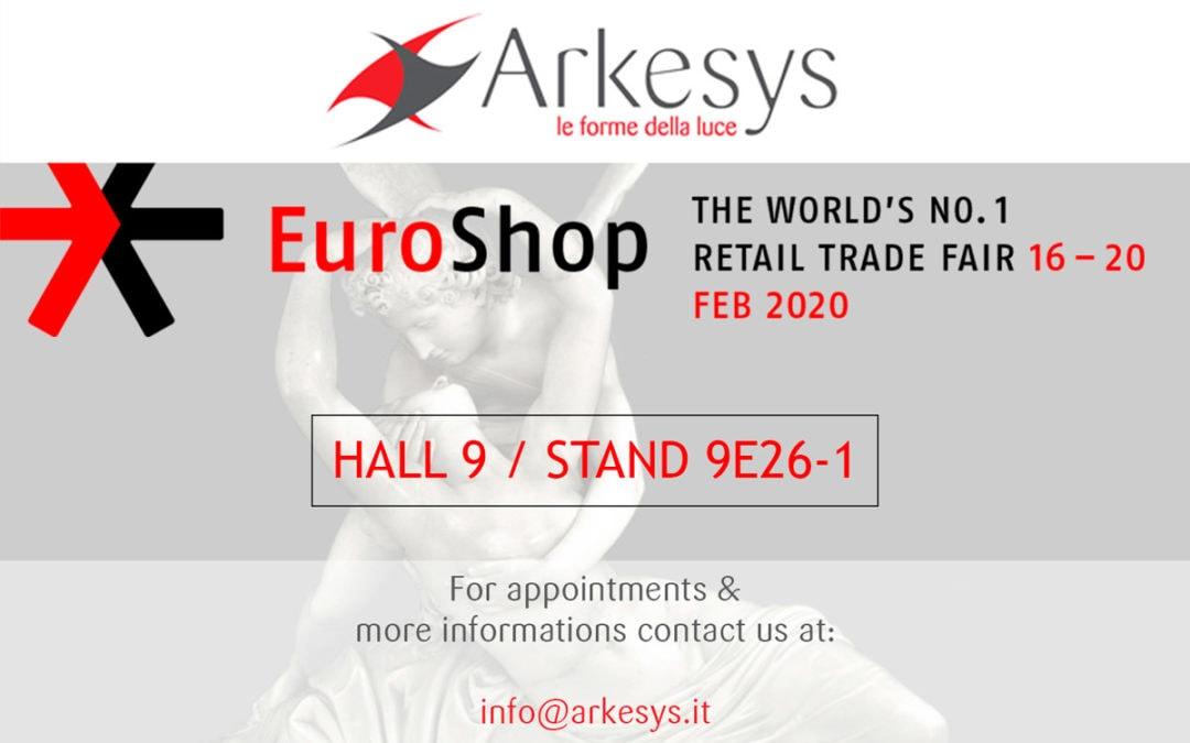 Arkesys all'Euroshop 2020